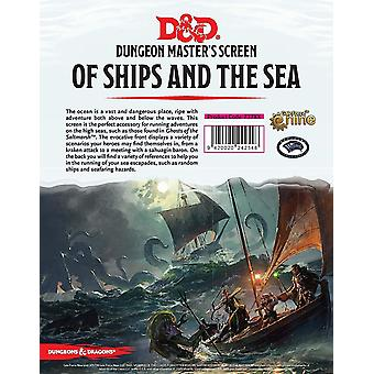 Dungeons & Dragons Of Ships & The Sea DM Screen