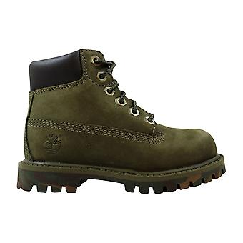 Timberland 6 Inch Premium Waterproof Olive/camo TB01888A Toddler