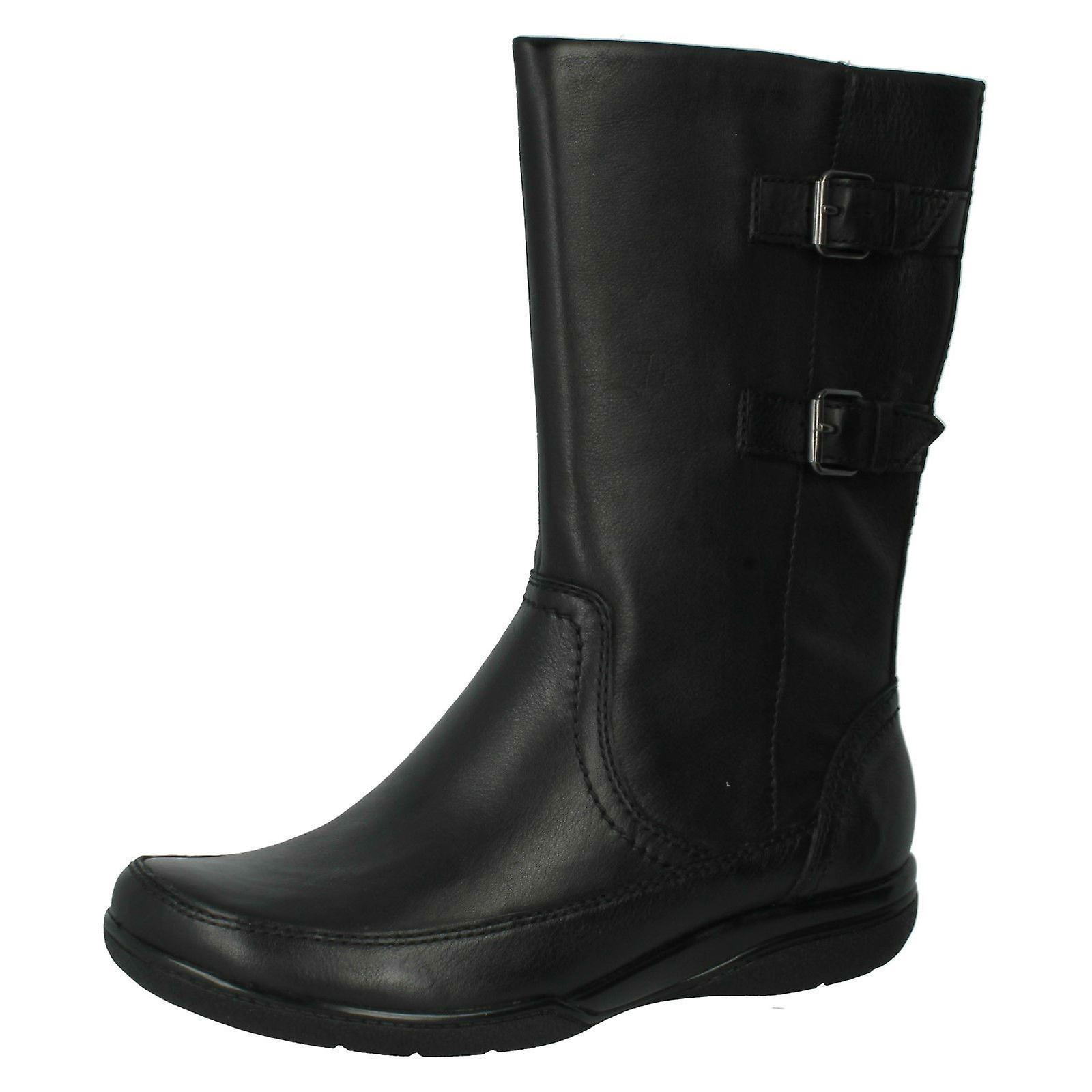 Ladies Clarks Knee High Boots Kearns Rain j54pt