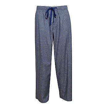 Cyberjammies 6430 Männer's Buzz blau Geo Print Baumwolle gewebt Pyjama Hose