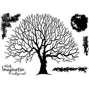 Woodware Clear Stamp - Old Oak Tree
