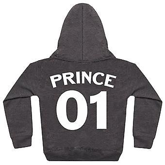 Princess, Prince And Queen 01 - Matching Set - Baby / Kids Hoodie & Mum Hoodie