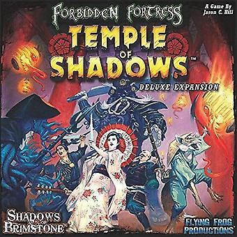 Sombras da fortaleza proibida de Brimstone - templo do bloco de luxe da expnsion das sombras