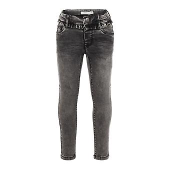 Nombre It Gray chicas jeans NMFPOLLY Dnmtora Gris Oscuro