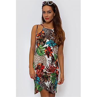 Hoola Tropical Bodycon Dress