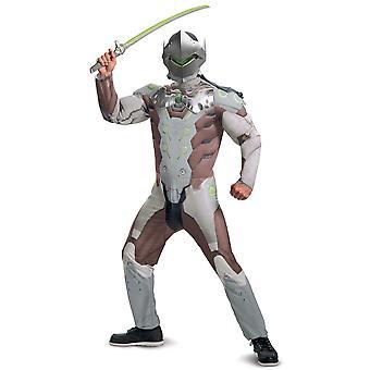 Genji Shimada Muscle Overwatch Jeu vidéo Adventurer Teen Boys Costume Homme