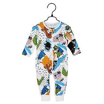 Moomin Fuss Pyjama's, Blauw, 62 cl, Martinex