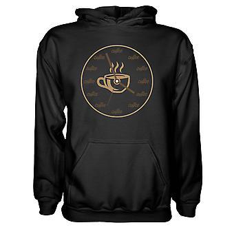 Herre Sweatshirts Hættetrøje- Varm kaffe