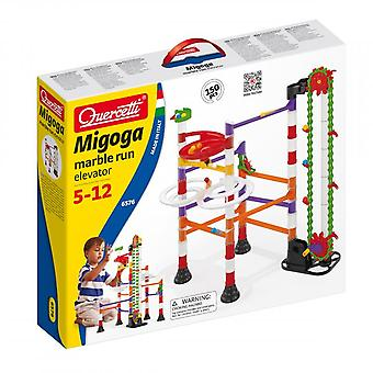Quercetti Migoga Elevator Marble Run 150PC Construction Set STEAM Toy Ages 5-12