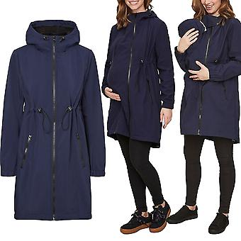 Mamalicious 3-in-1 softshelljacket carrying jacket pregnancy baby insert