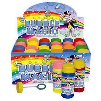 Henbrandt boble magiske boble Wand parti bøtter (Pack af 24)