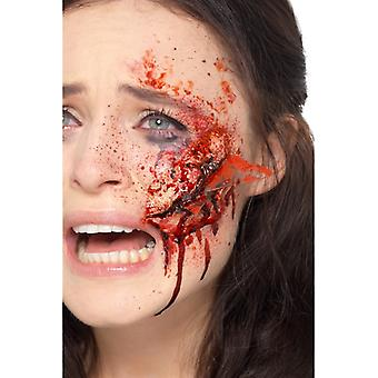 Make Up FX Glasscherben Wunde Halloween Accessoire Latex Broken Glass Wound Schminke