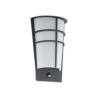 Eglo Breganzo 1 - Led Outdoor Wall Light com sensor de movimento PIR Anthracite IP44 - EG96018