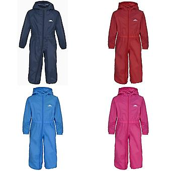 Trespass Babies Button Waterproof Rain Suit
