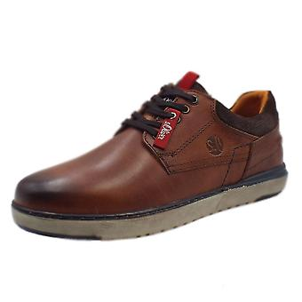 S.Oliver Oberon Men's 13623 Casual Lace Up Shoes In Tan