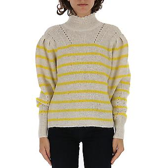Isabel Marant ÉToile 19apu109819a068e10yw Femmes-apos;s Yellow Wool Sweater
