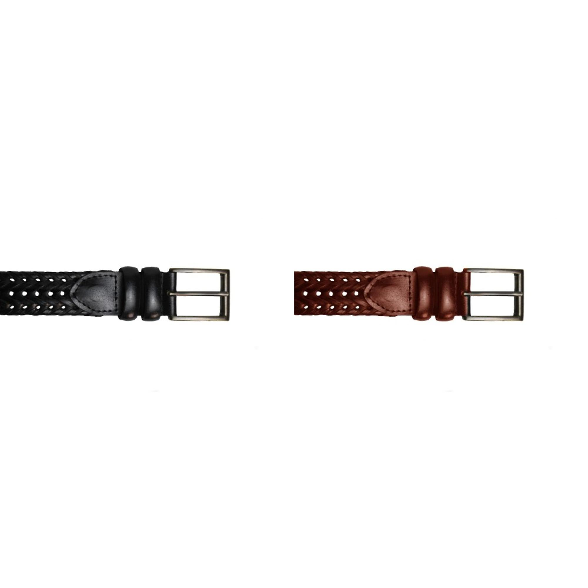 Eastern Counties Leather Mens Plaited Belt