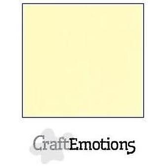 CraftEmotions linen cardboard 10 Sh yellow 27x13,5cm  250gr  / LHC-32