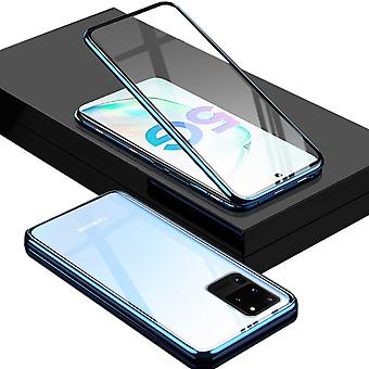 Kaksipuolinen 360 asteen magneetti / lasikotelo kotelo puhelimen kotelo nininen samsung-galaksille S20 Ultra G988F