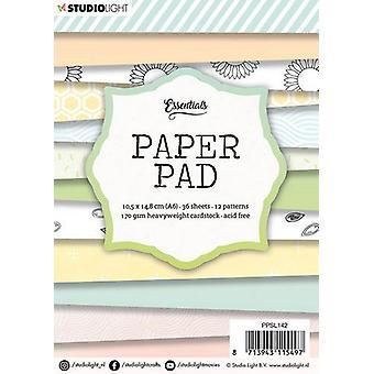 Studio Light A6 Paper Pad 36 Sheets 12 Designs - Nummer 142