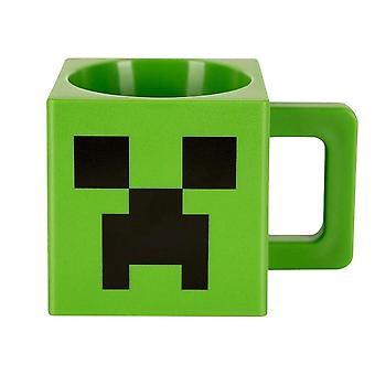 Minecraft, mok-kunststof Creeper face