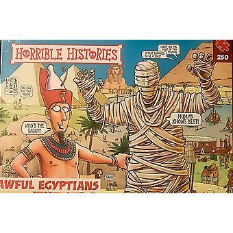 Paul Lamond Histórias Horríveis Egípcios Aweful 250 Peça Quebra-Cabeça