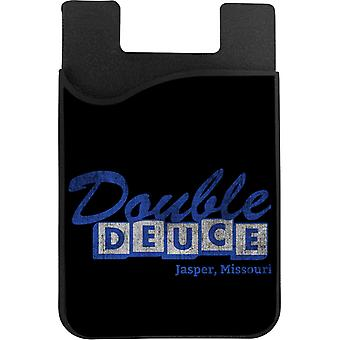 Roadhouse Double Deuce Jasper Missouri Phone Card Holder