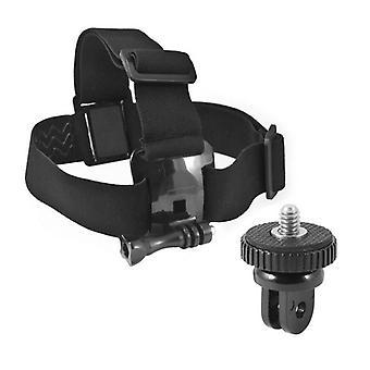 Head Harness per fotocamera sportiva KSIX Black