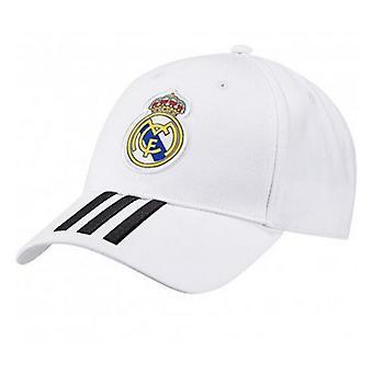 Sports Cap Adidas Real Madrid 3 Streifen Weiß