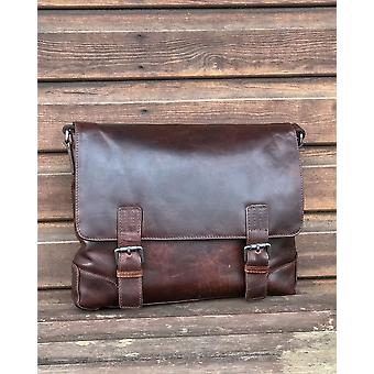 Ashwood Leather Satchel Laptop Bag - Cow Leather - Suitable For 17