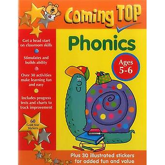 Coming Top - Phonics - Ages 5-6 - 60 Gold Star Stickers - Plus 30 Illus
