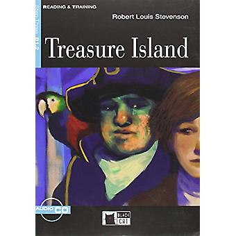 Reading & Training - Treasure Island + audio CD by Robert Louis St