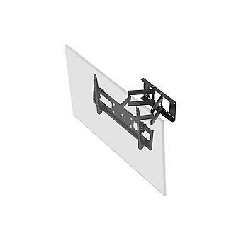 Full-Motion Articulating TV Wall Mount Bracket For TVs 37in to 70in  Max Weight 132lbs  Extension Range of 3.7in to 18.7in  VESA Up to 800x400  Works with Concrete & Brick by Monoprice