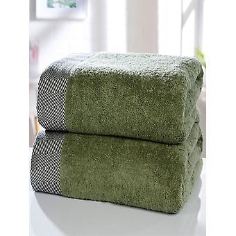 Getijde 2 stuk handdoek baal salie