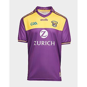 New O'Neills Men's Wexford GAA 2020 Home Shirt Purple