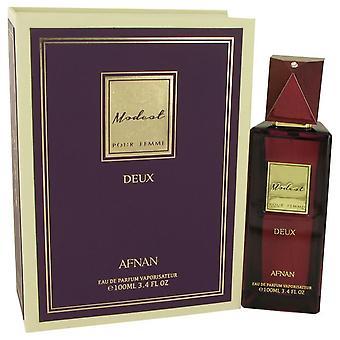 Modest pour femme deux eau de parfum spray by afnan   538130 100 ml