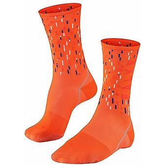 Falke Biking Impulse Peloton Socks - Orange Ray