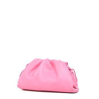 Bottega Veneta 585852vcp405608 Women's Pink Leather Clutch
