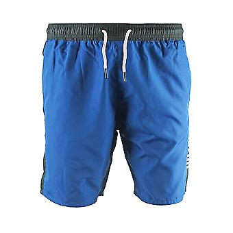 Roberto Cavalli Logo Blue Beachwear Swim Shorts