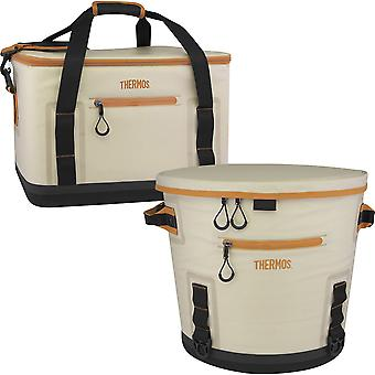 Thermos Trailsman Can Cooler - Cream/Tan