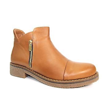 Lunar Steffi läder zip boot