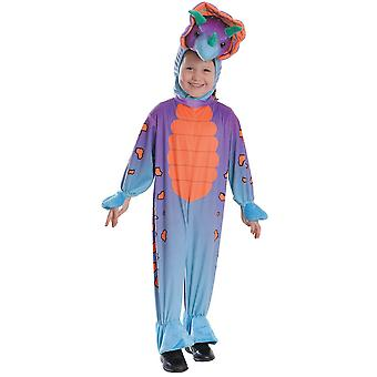 Bristol Novelty Childs/Kids Triceratops All-In-One Costume