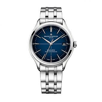 Baume & Mercier BM0A10468 Clifton Baumatic βραχιόλι χάλυβα ρολόι χειρός
