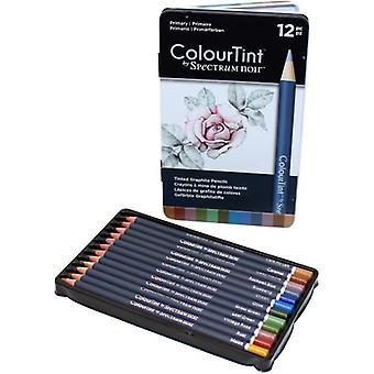 Spectrum Noir Spectrum ColourTint Graphite Pencils Primary (12pc) (SPECCT-PRI12)