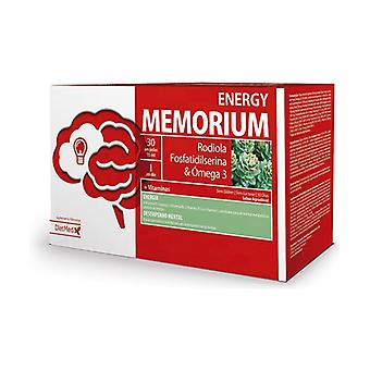Memorium Energy 30 ampoules de 15ml