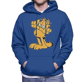 Garfield finger stel mænd ' s hættetrøje