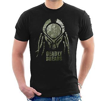Predator Deadly Dreads Men's T-Shirt