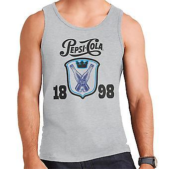 Pepsi Cola fles Crest 1898 mannen ' s vest