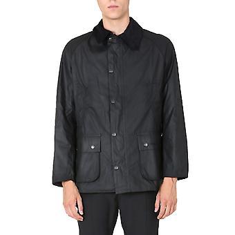 Barbour Mwx0339bk71 Homme's Veste extérieure en coton noir