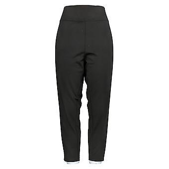 BROOKE SHIELDS Women's Petite Pull-On Ponte Leggings Black A345418